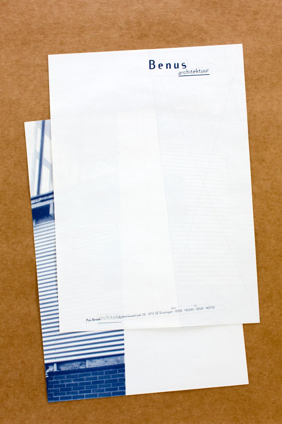 stationery under construction ...   briefpapier in aanbouw ...